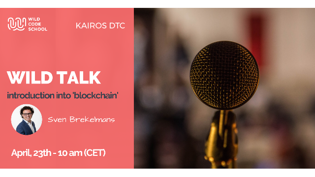 "Wild Talk - Introduction into ""blockchain"" (EN)"